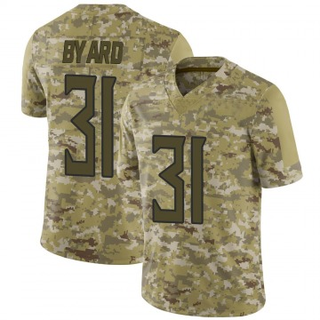 Men's Kevin Byard Tennessee Titans Limited Camo 2018 Salute to Service Jersey