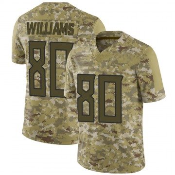 Men's Kyle Williams Tennessee Titans Limited Camo 2018 Salute to Service Jersey