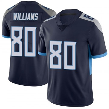 Men's Kyle Williams Tennessee Titans Limited Navy Vapor Untouchable Jersey