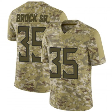 Men's Tramaine Brock Tennessee Titans Limited Camo 2018 Salute to Service Jersey