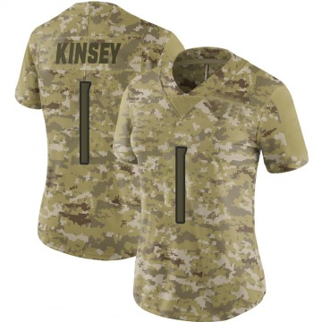 Women's Mason Kinsey Tennessee Titans Limited Camo 2018 Salute to Service Jersey