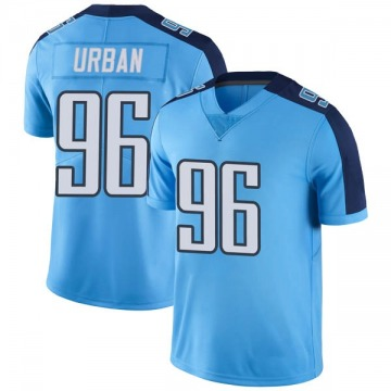 Youth Brent Urban Tennessee Titans Limited Light Blue Color Rush Jersey