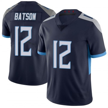 Youth Cameron Batson Tennessee Titans Limited Navy 100th Vapor Untouchable Jersey