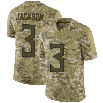 Youth Chris Jackson Tennessee Titans Limited Camo 2018 Salute to Service Jersey